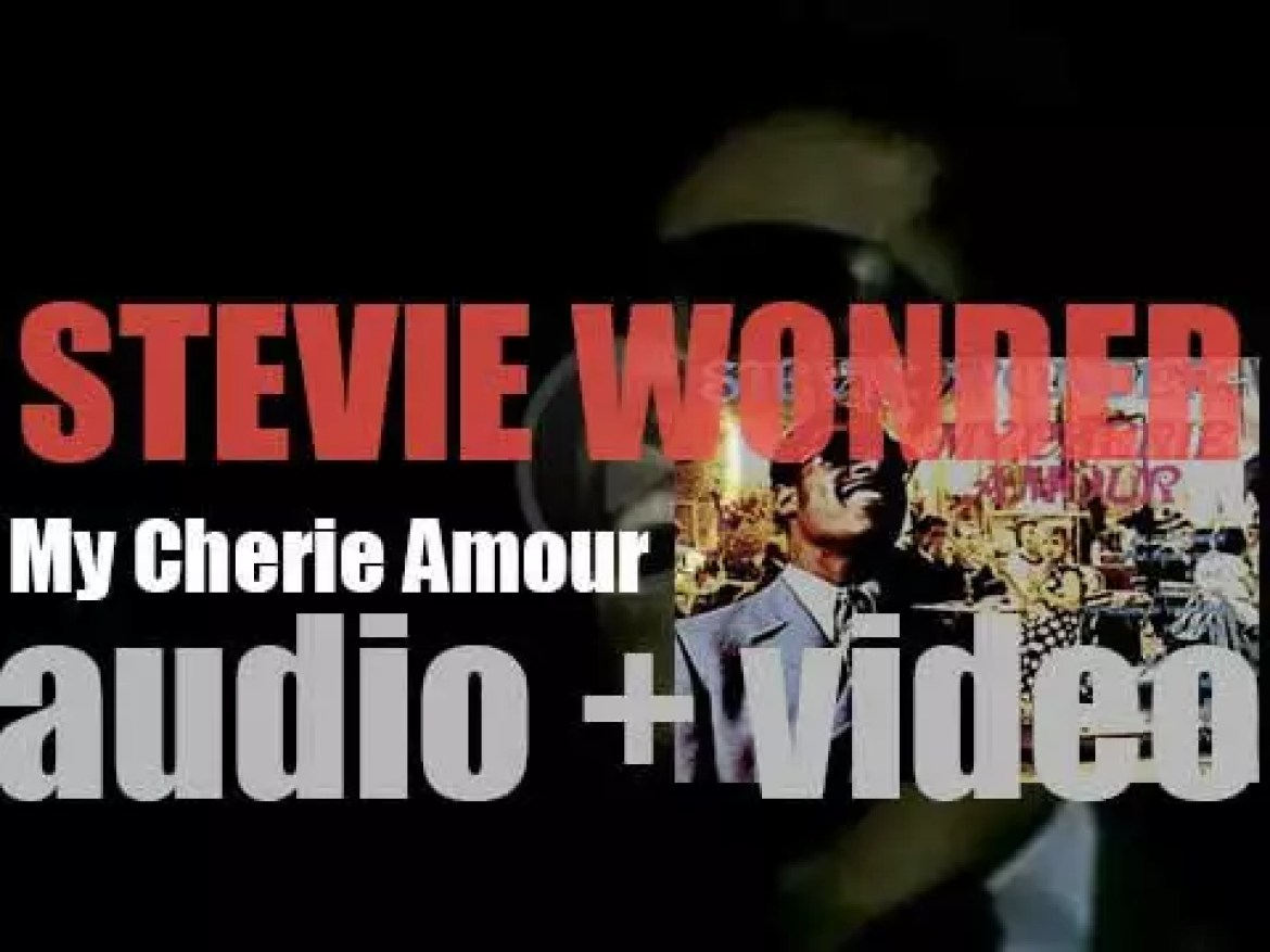 Tamla publish Stevie Wonder's eleventh album : 'My Cherie Amour' featuring 'Yester-Me, Yester-You, Yesterday' (1969)