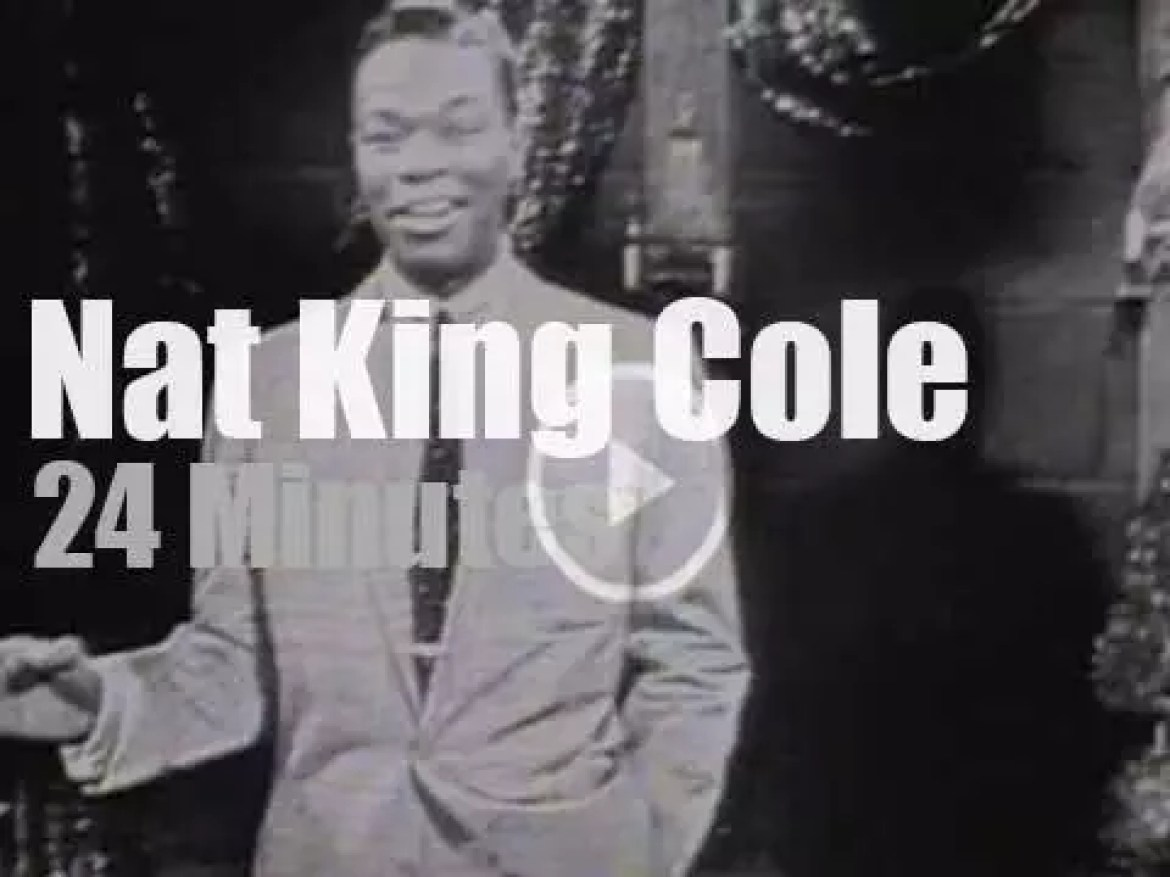 """On TV today, Nat King Cole """"à la French"""" (1957)"""