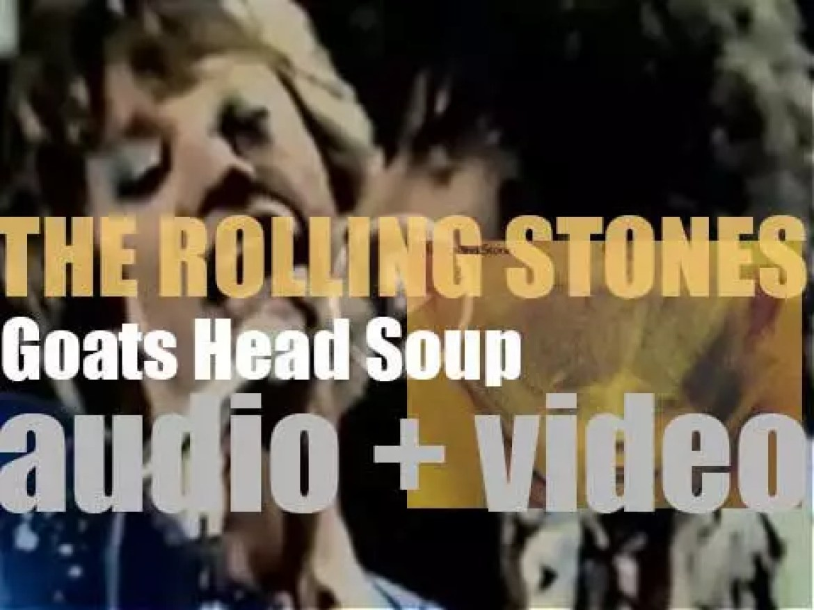 The Rolling Stones release 'Goats Head Soup,' their eleventh album  featuring 'Angie' (1973)