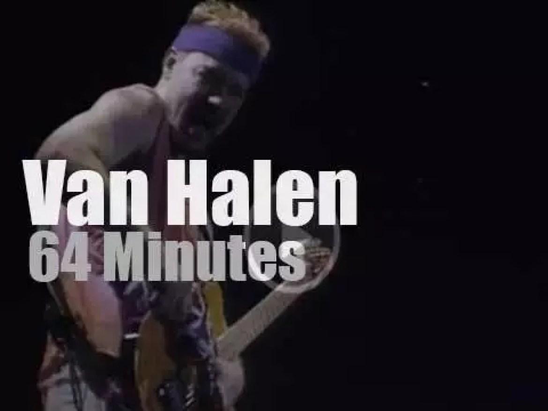 Van Halen rock Toronto (1995)