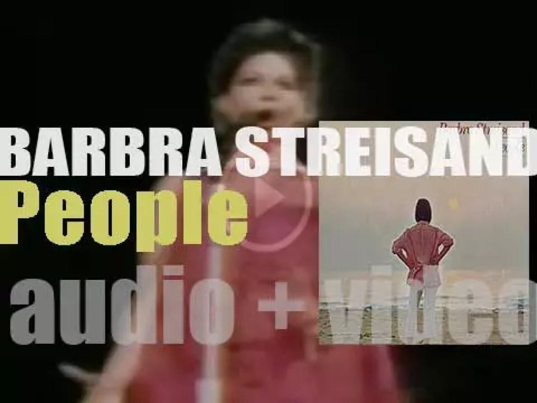 Columbia publish Barbra Streisand's fourth album : 'People' (1964)