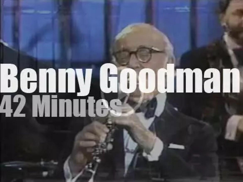 Benny Goodman plays at 'Aurex Jazz Festival' (1980)
