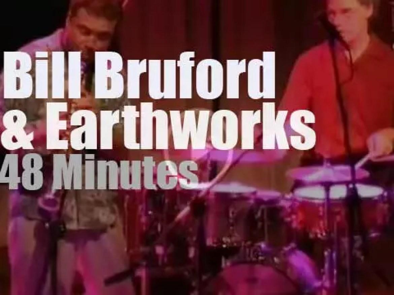 Bill Bruford takes Earthworks to Uruguay (2002)