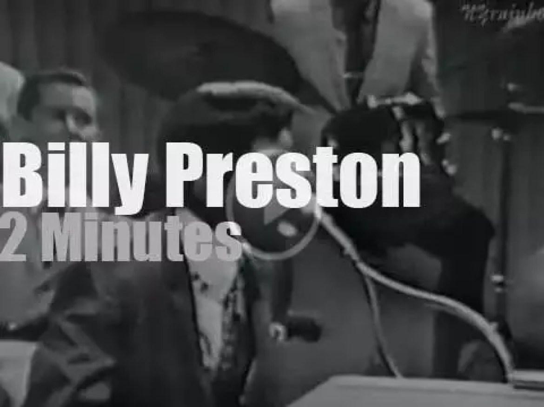 On TV today, Billy Preston at 'Shindig!' (1965)