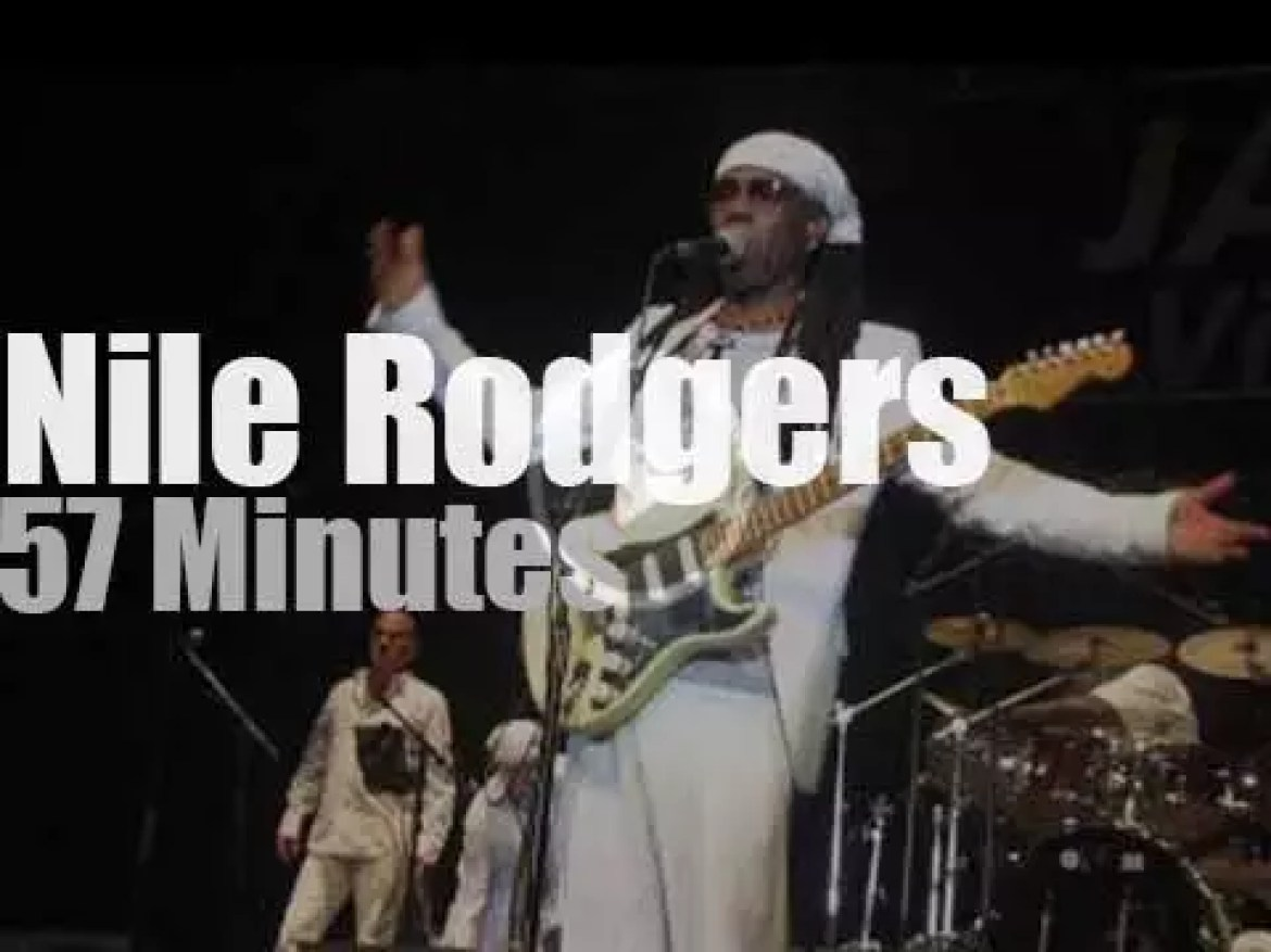 Nile Rodgers takes Chic to Paris (2013)