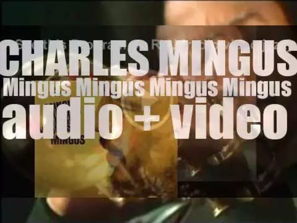 Charles Mingus finishes the recordings of the album 'Mingus Mingus Mingus Mingus Mingus' that features a large ensemble of brass and saxophones (1963)