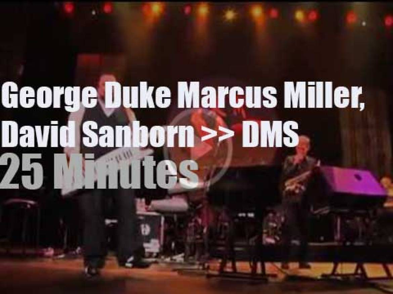 George Duke, Marcus Miller &  David Sanborn meet in Tokyo (2011)