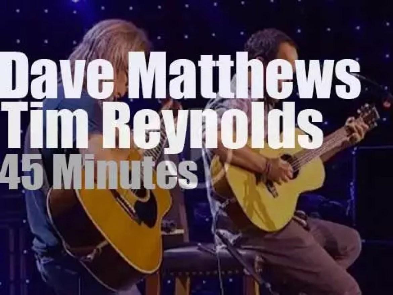 Dave Matthews & Tim Reynolds team up  at Farm Aid (2014)