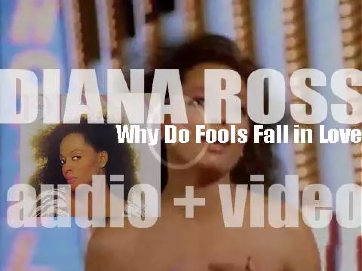RCA publish Diana Ross 'Why Do Fools Fall in Love' featuring 'Mirror Mirror' (1981)