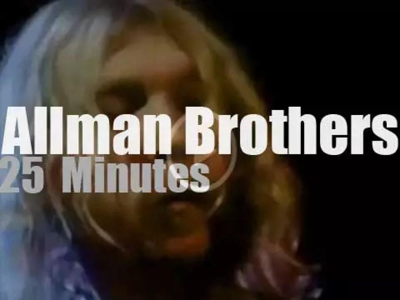 Duane & Greg Allman take the Allman Brothers Band to NYC  (1970)
