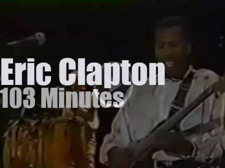 Eric Clapton visits Chile (1990)