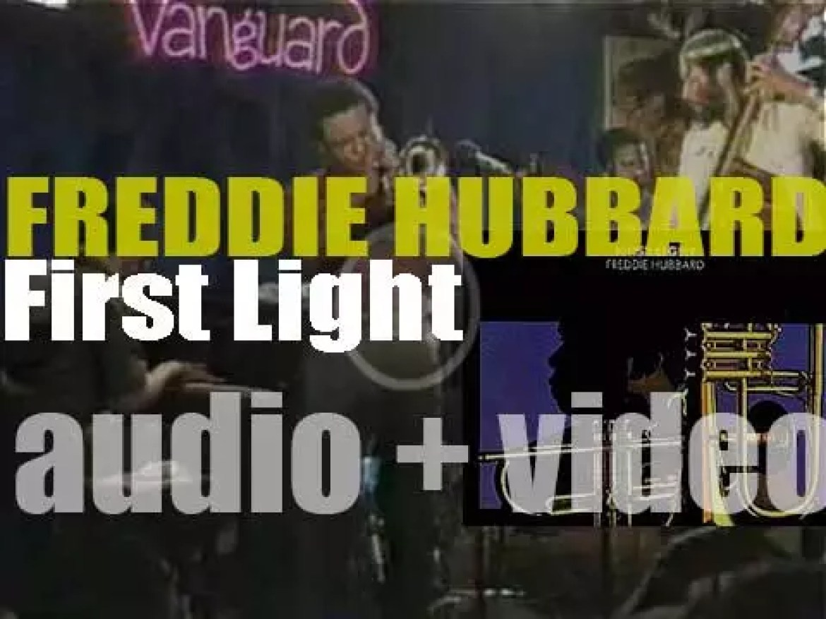 Freddie Hubbard records the album 'First Light' for CTI (1971)