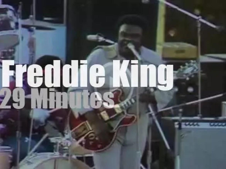 Freddie King plays in South Carolina (1972)