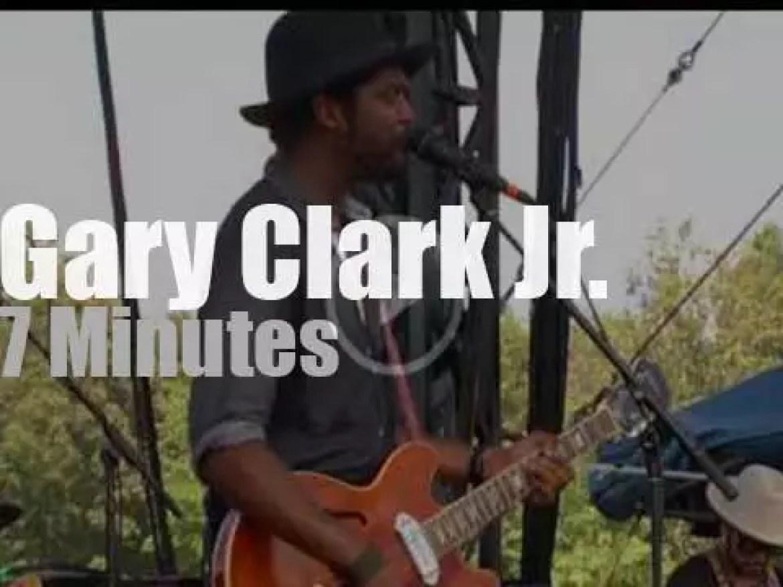 Gary Clark Jr. attends a festival in Virginia (2014)