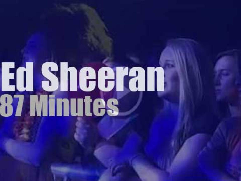 German TV tapes Ed Sheeran (2012)