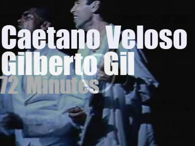 Caetano & Gilberto celebrate 25 years of Tropicália (1993)
