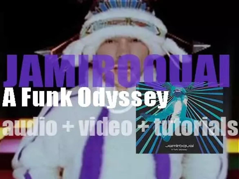 Jamiroquai release their fifth album : 'A Funk Odyssey' (2001)