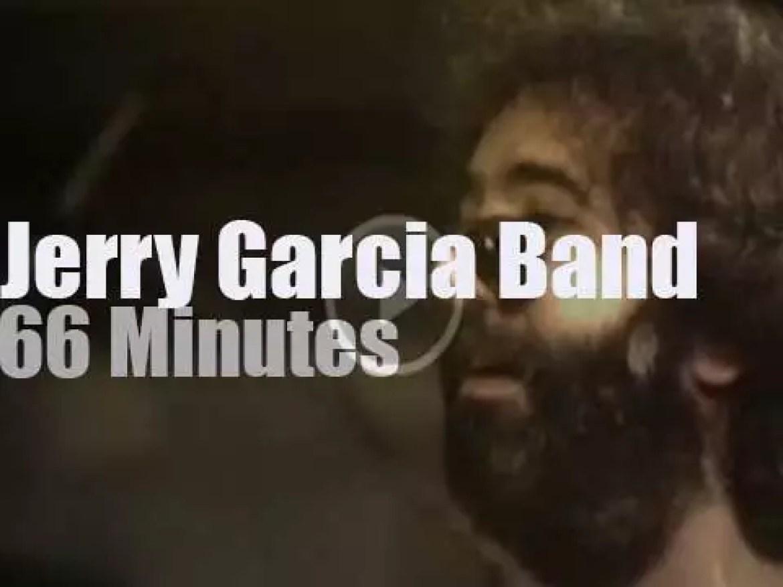 Jerry Garcia boards the Duchess (1976)