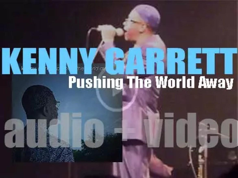Mack Avenue publish Kenny Garrett's 'Pushing the World Away' (2013)