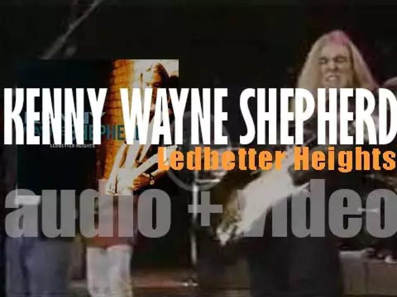 Giant Records publish Kenny Wayne Shepherd's debut album : 'Ledbetter Heights' (1995)