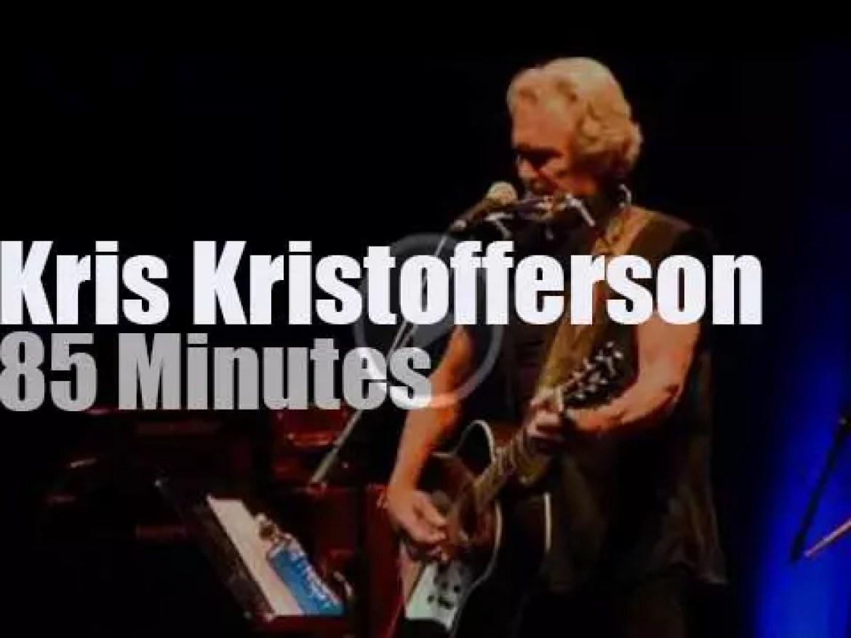 Kris Kristofferson sings in Munich (2013)