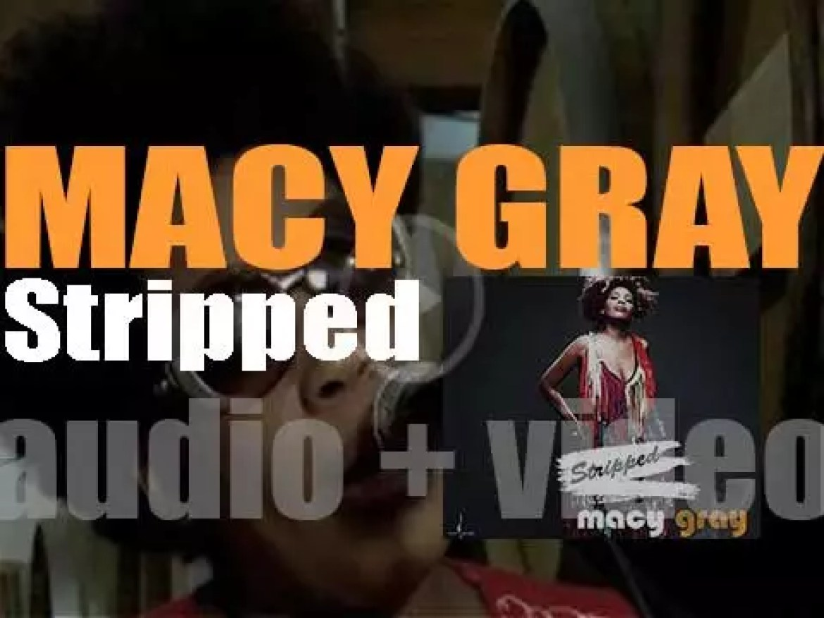 Macy Gray releases 'Stripped,' a live album recorded at a Brooklyn church (2016)