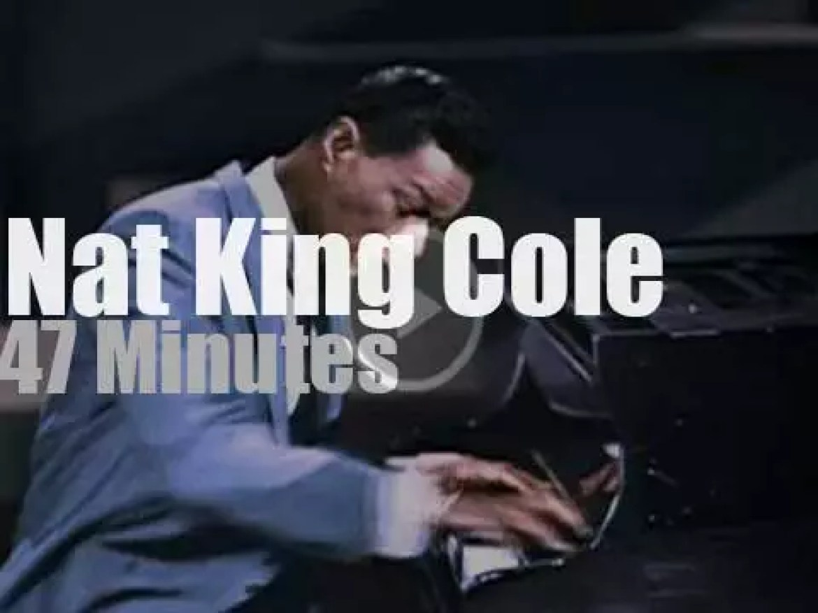 On TV today, An Evening With Nat King Cole (1963)