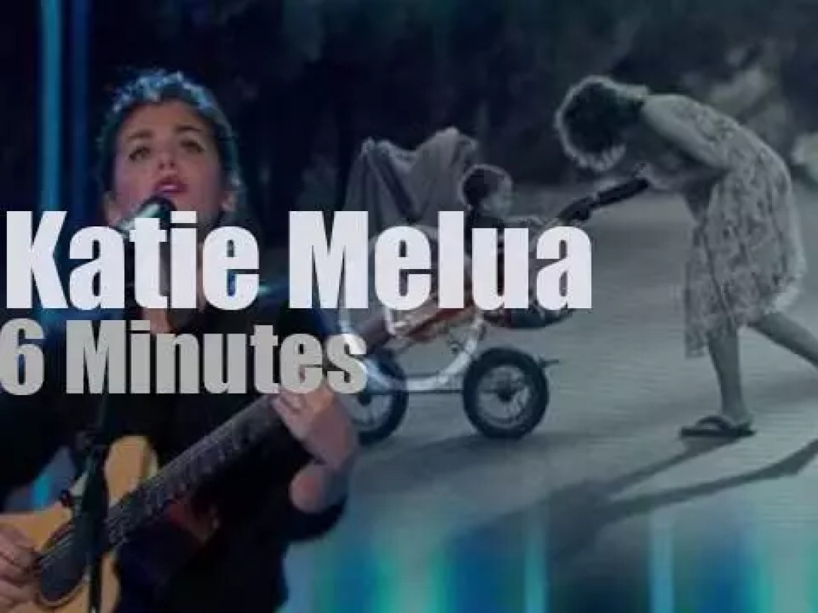 On French TV today, Katie Melua (2013)