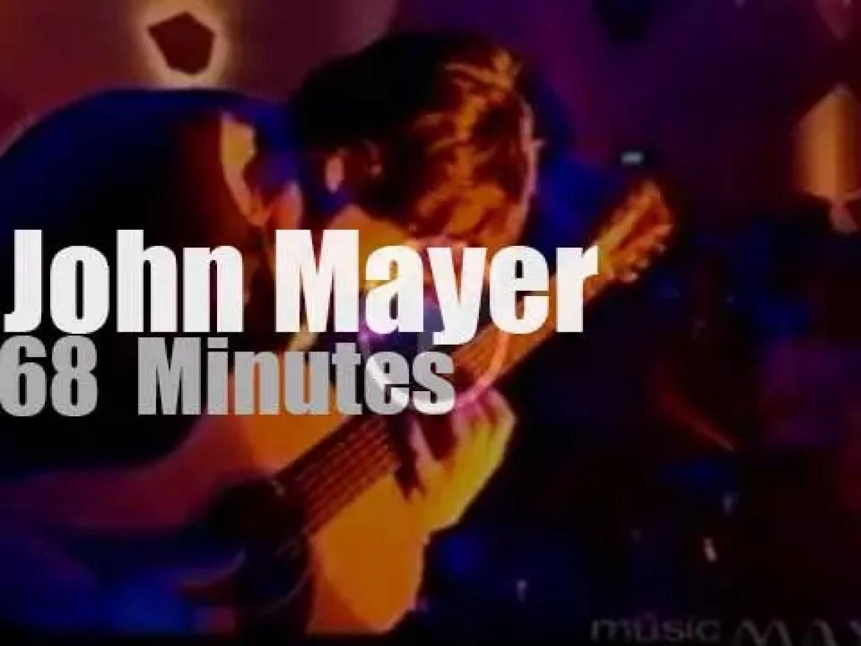 On TV today, John Mayer in Australia (2003)