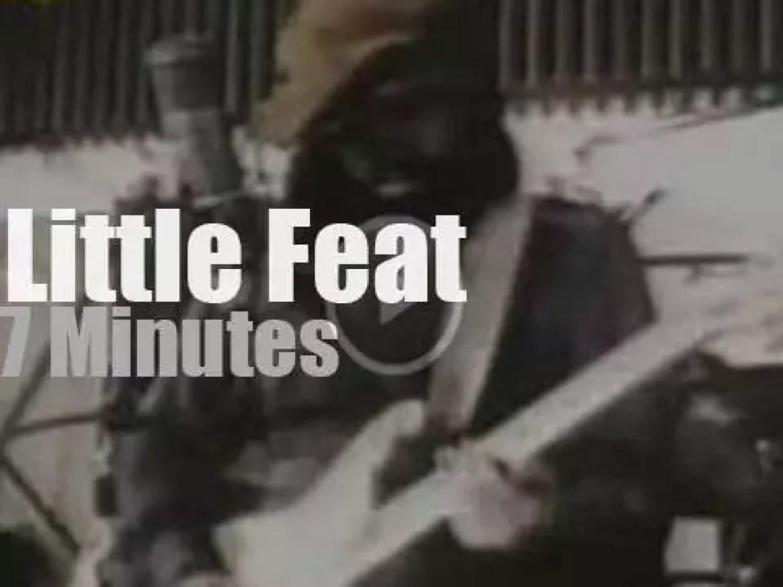 On radio today, Little Feat at WLIR (1974)