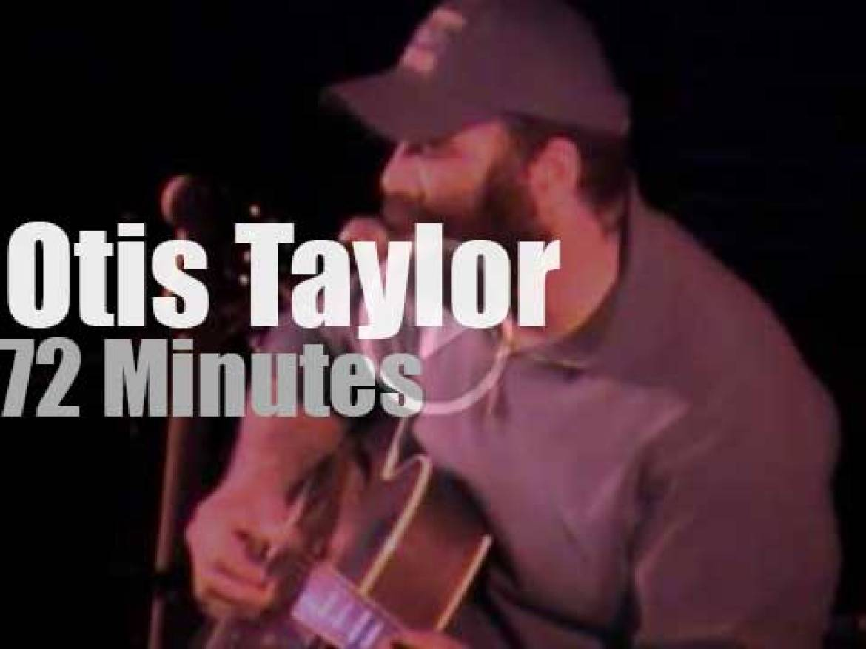 Otis Taylor attends a festival in San Francisco (2003)