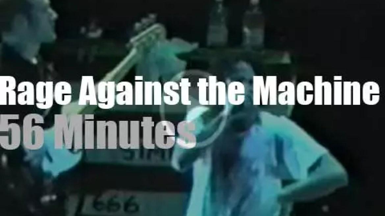 Rage Against the Machine visit Arizona (1997)