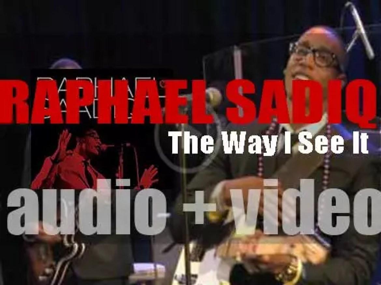 Columbia release Raphael Saadiq's third album : 'The Way I See It' (2008)