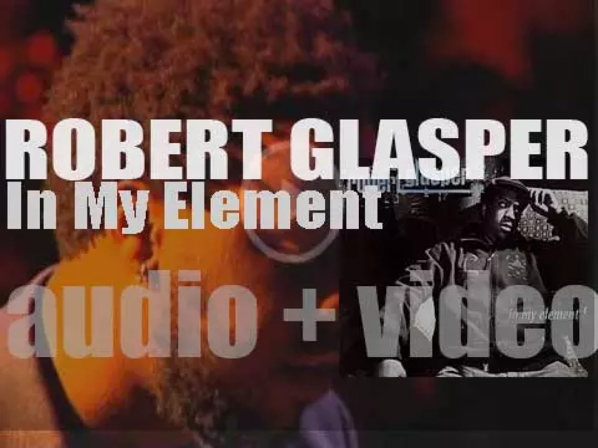 Robert Glasper starts the recording of 'In My Element' for Blue Note (2007)