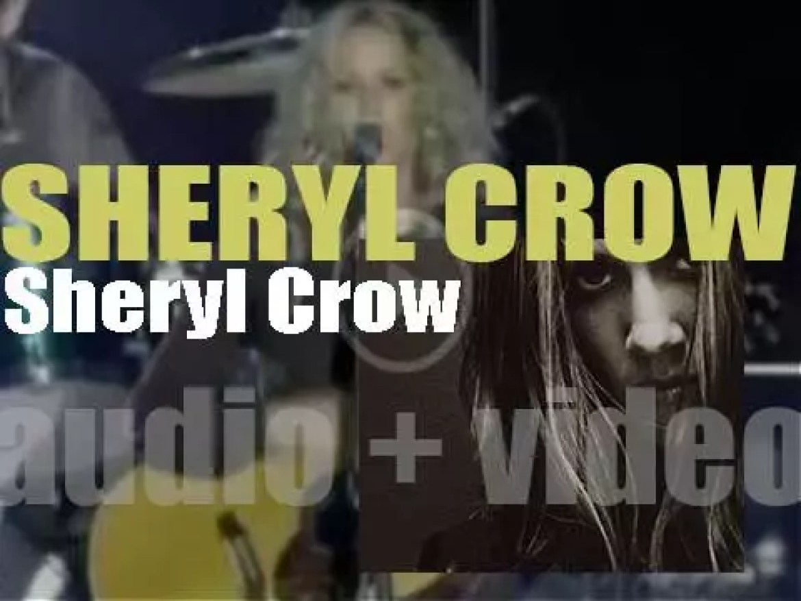 A&M Records publish 'Sheryl Crow,' her second and eponymous album featuring 'If It Makes You Happy' (1996)
