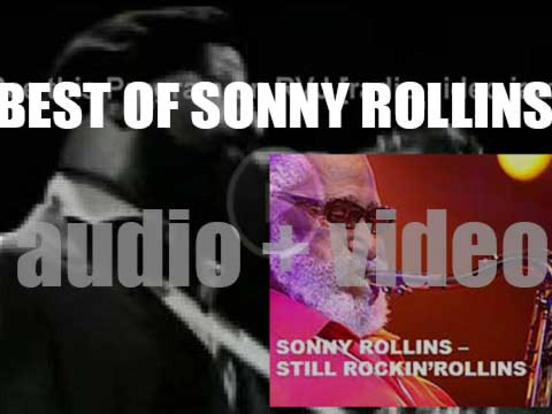 Happy Birthday Sonny Rollins. 'Still Rockin'Rollins'