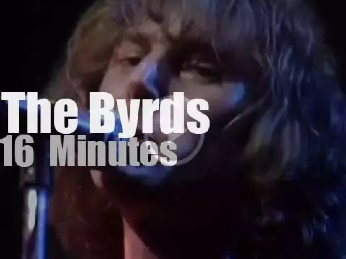 The Byrds play at Fillmore East (1970)