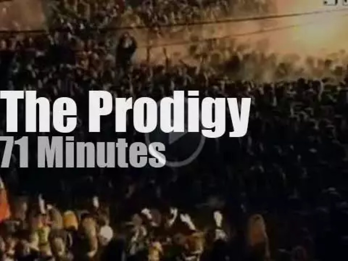 The Prodigy rock the Red Square (1997)