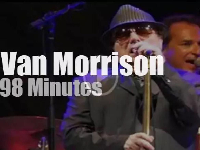 Van Morrison sings in Ottawa (2015)