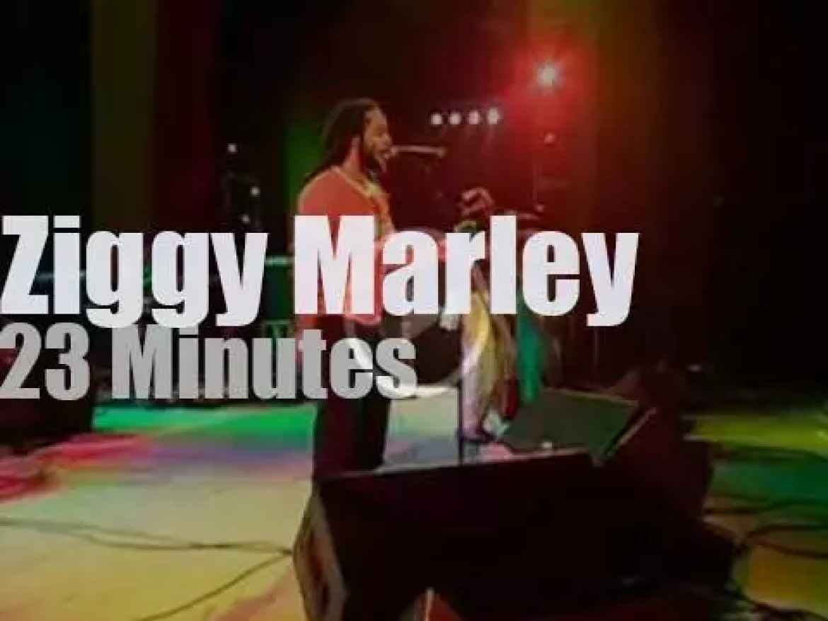 Ziggy Marley takes The Melody Makers to Florida (2000)