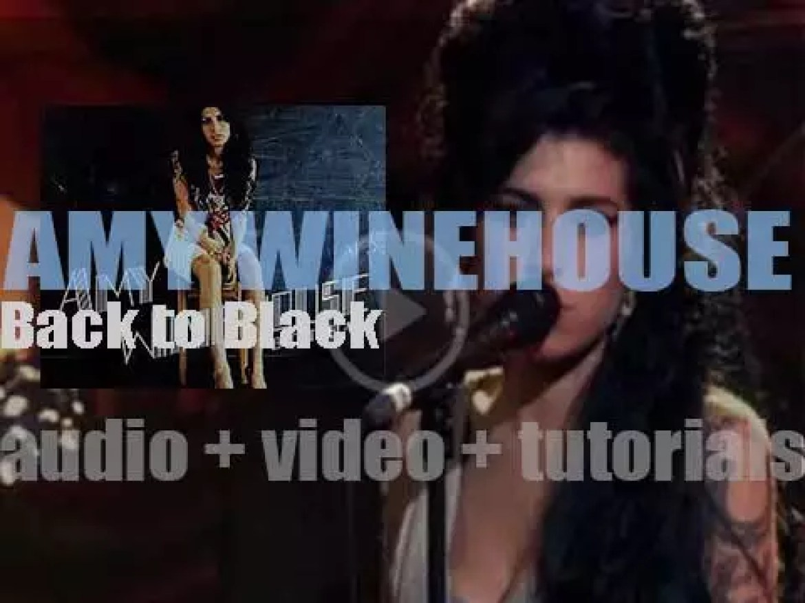 Island  publish Amy Winehouse's  second album : 'Back to Black' featuring 'Rehab' and 'You Know I'm No Good' (2006)