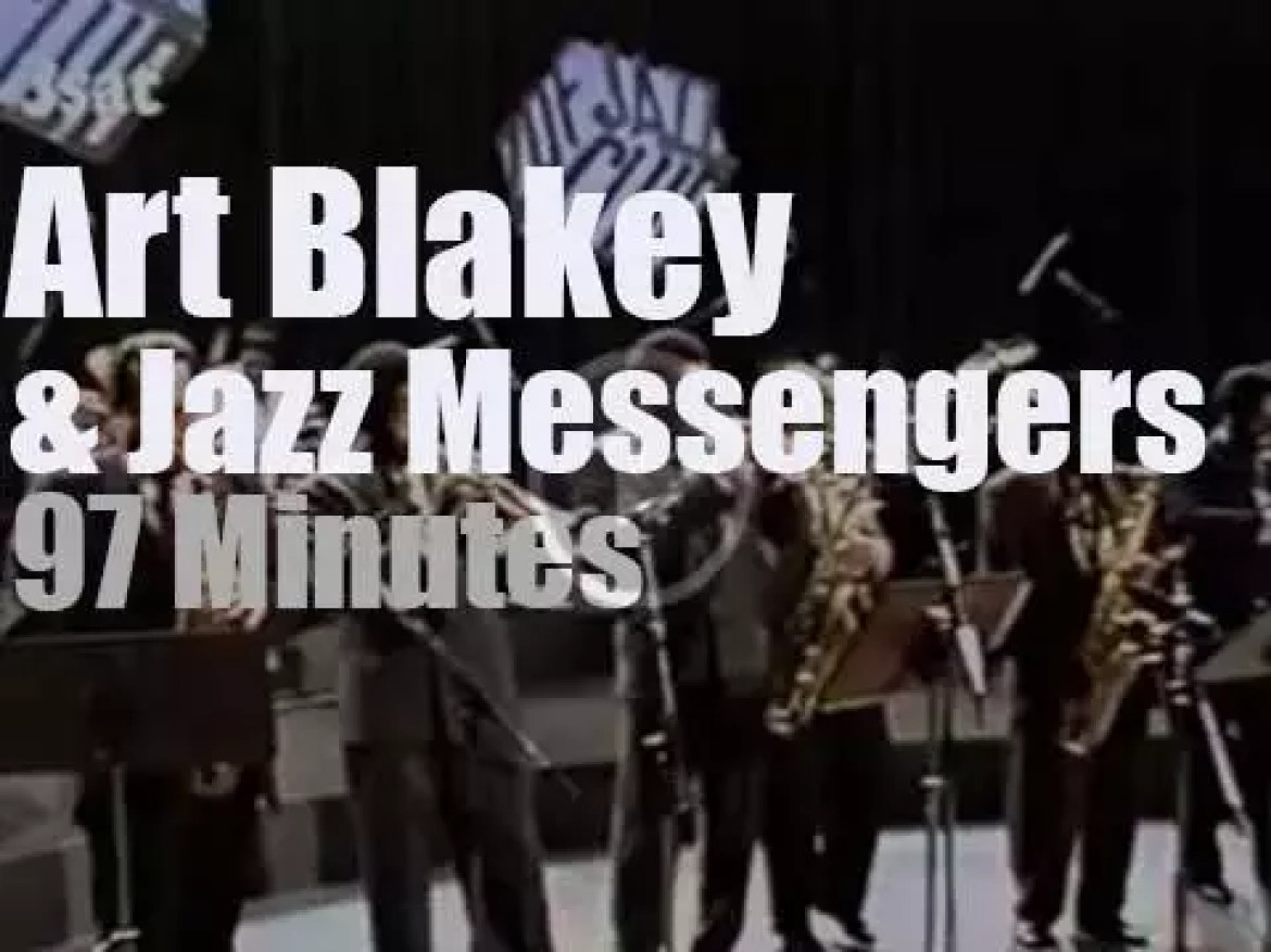 Art Blakey celebrates his 70th birthday with an all-star band (1989)