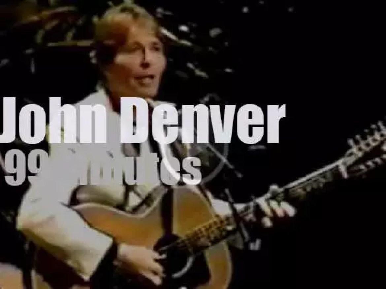 BBC tapes John Denver in London (1982)