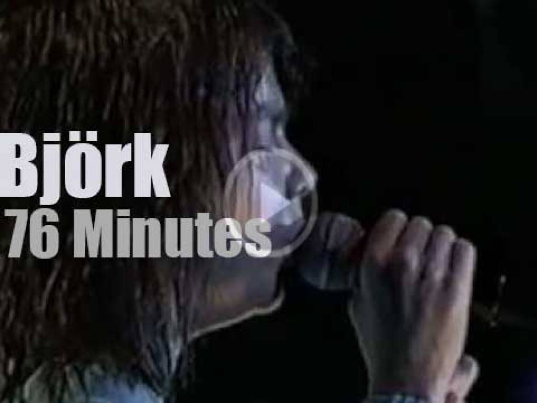 Björk visits Brazil (1996)
