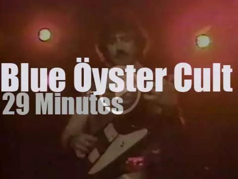 Blue Öyster Cult rock Hollywood, Florida (1981)