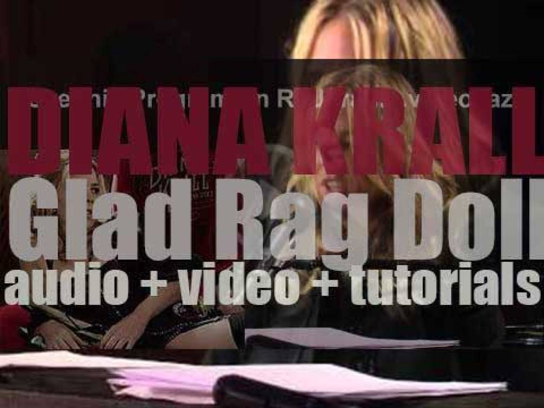 Verve publish Diana Krall's eleventh album : 'Glad Rag Doll' (2012)