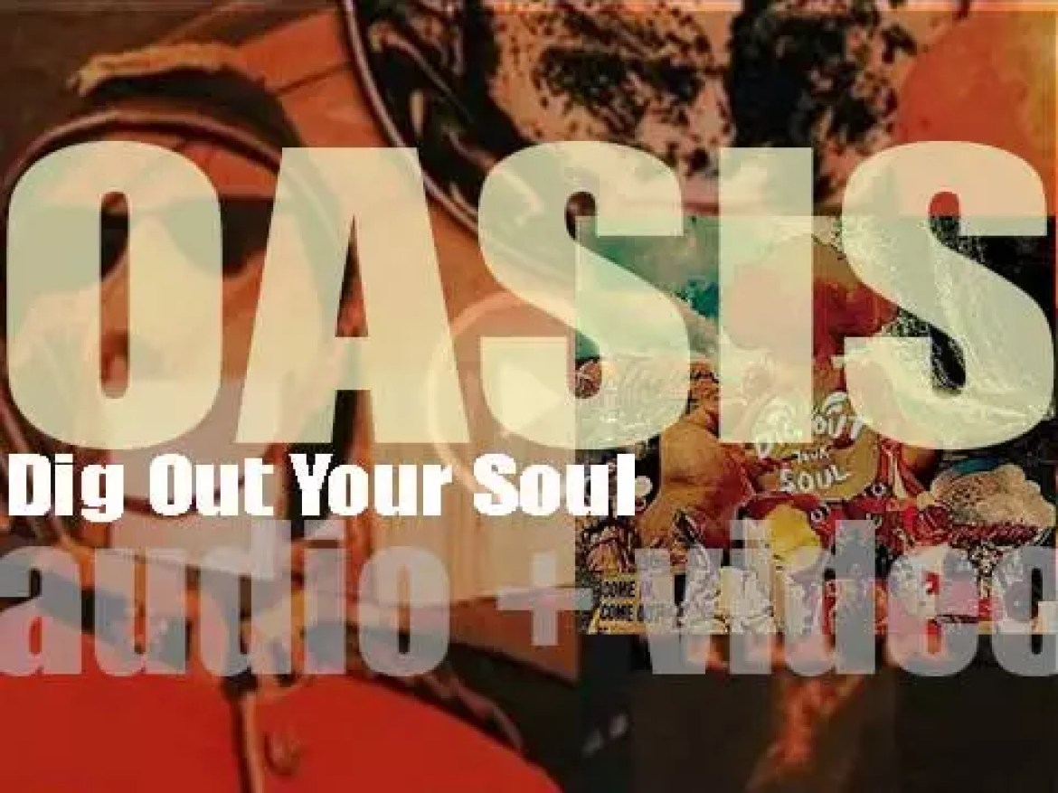 Oasis release 'Dig Out Your Soul,' their seventh and final album (2008)