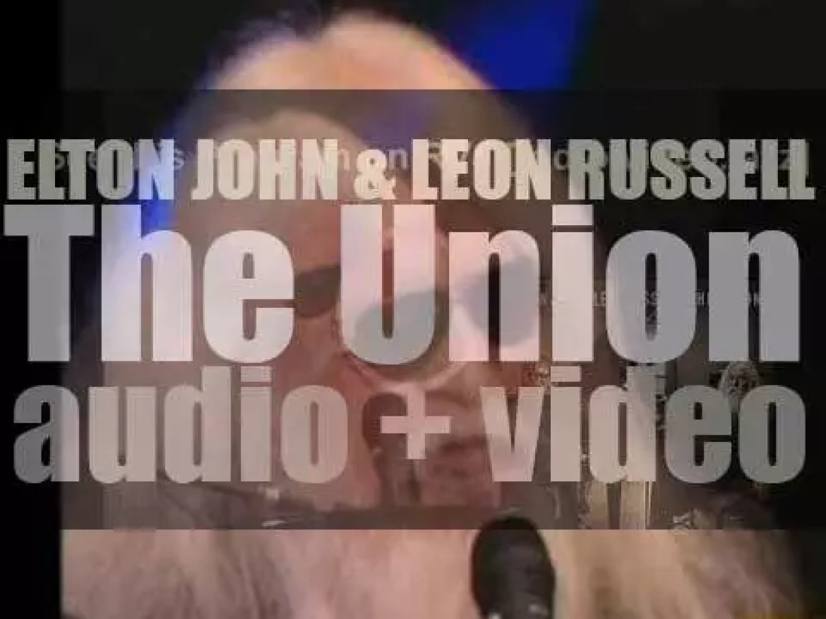Decca publish 'The Union,' a collaboration album by Elton John and Leon Russell (2010)