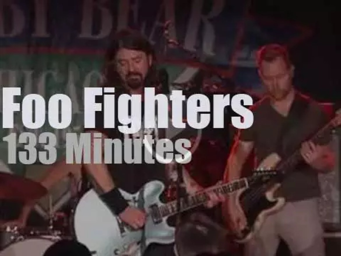 Foo Fighters premiere their HBO series in Chicago (2014)