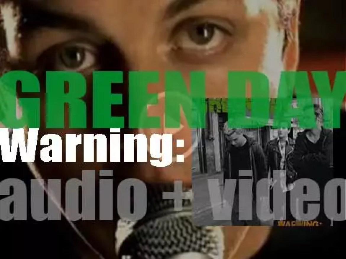 Green Day releases 'WARNING:,' their sixth album featuring 'Minority' (2000)